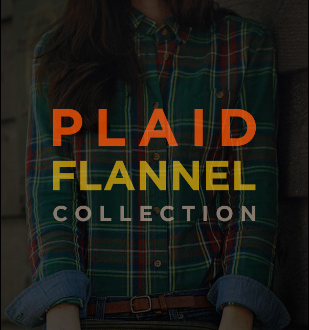 Women's Fall Plaid Flannel Collection
