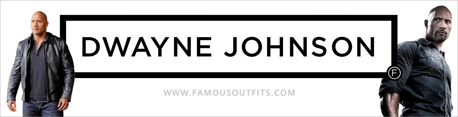 Dwayne Johnson Fashion
