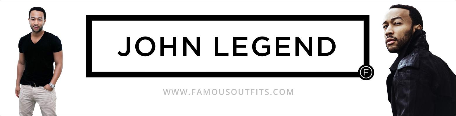 John Legend Fashion