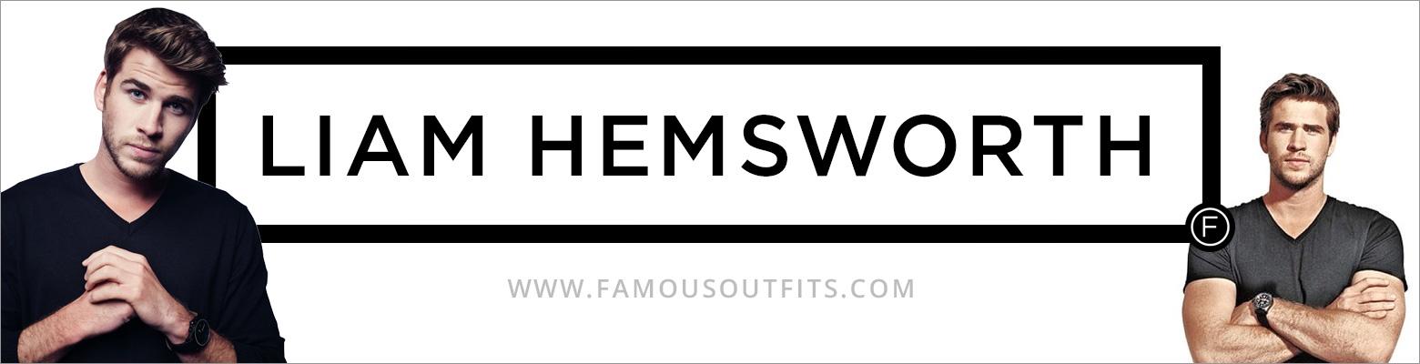 Liam Hemsworth Fashion