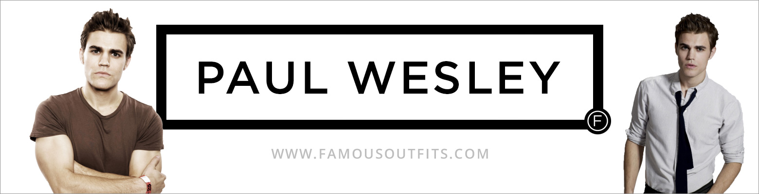 Paul Wesley Fashion