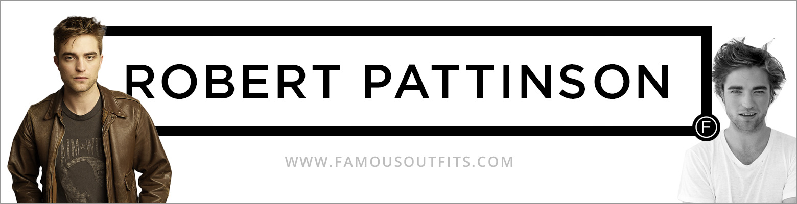 Robert Pattinson Fashion