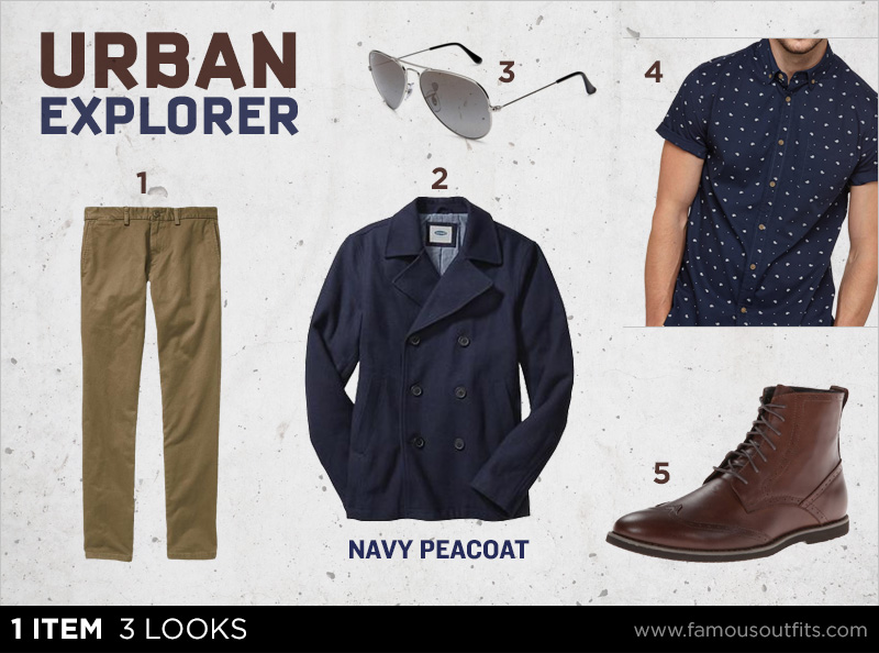 Navy Peacoat 1 Item 3 Looks Famous Outfits