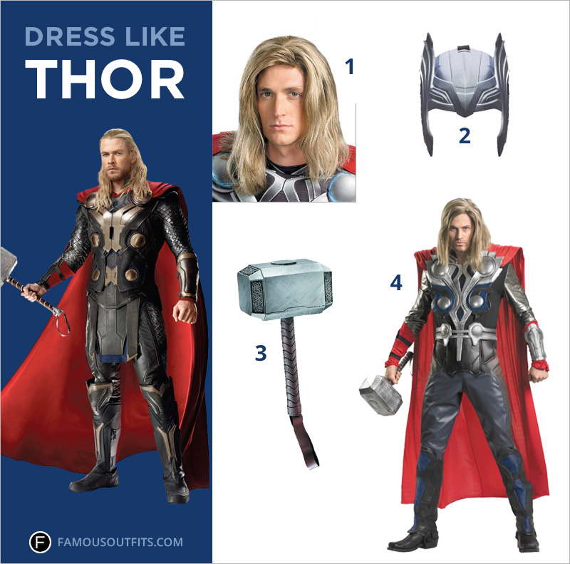 Thor i Like it Dress Like Thor
