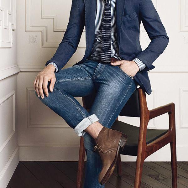 Tie + Jeans