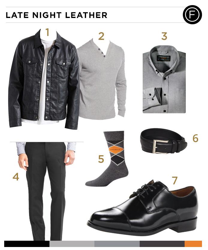 Justin Timberlake's Leather Jacket Style