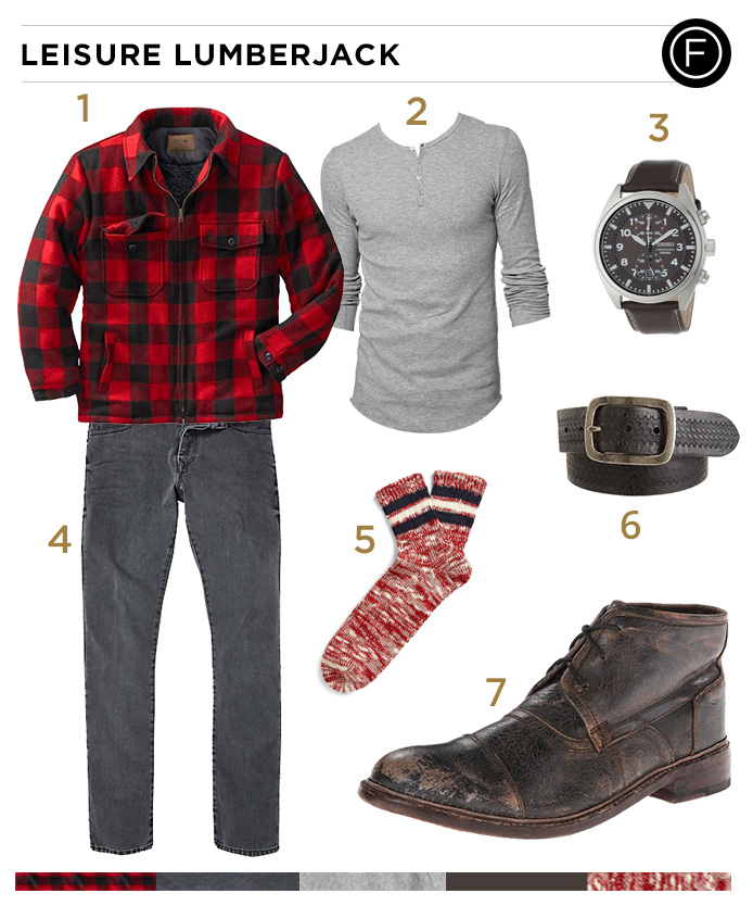 Ryan Gosling's Leisure Lumberjack Look