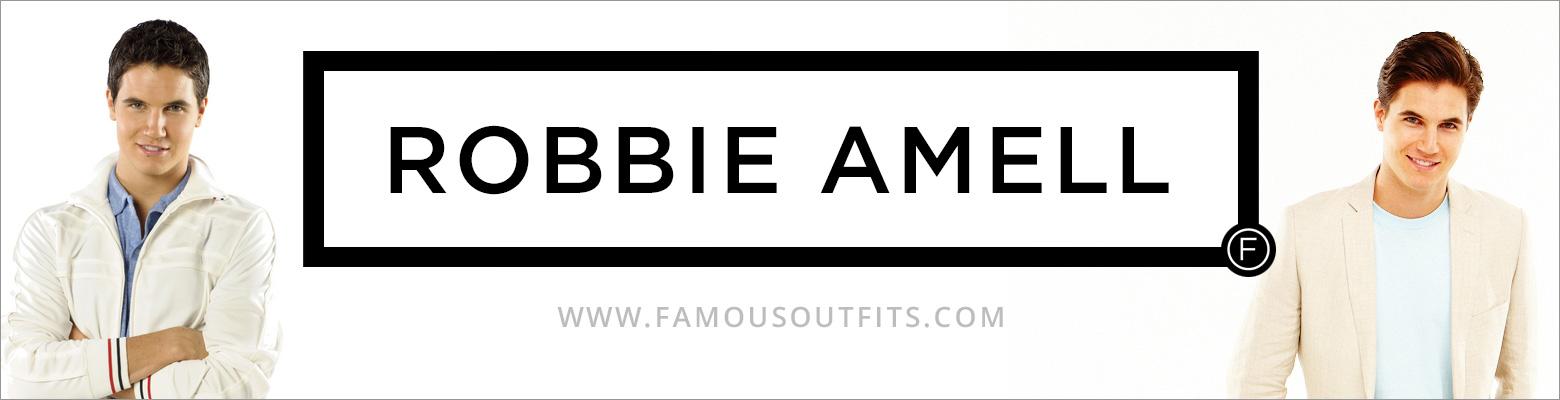 Robbie Amell Fashion