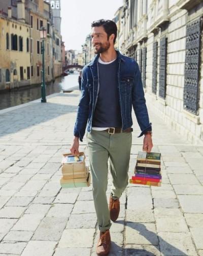 olive green khaki pants - Pi Pants
