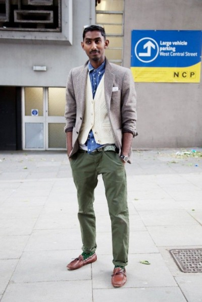Images of Olive Green Pants Men - Kianes