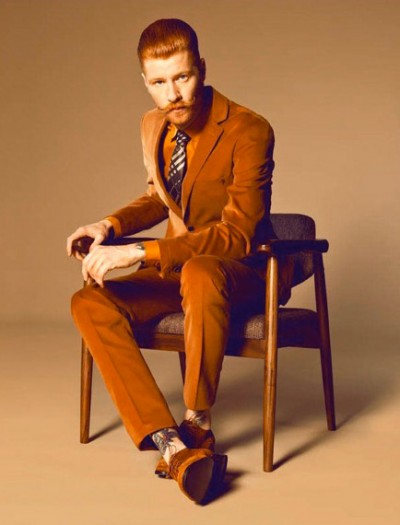 Redhead Men S Fashion Famous Outfits