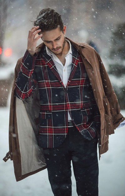 winter coat men snow