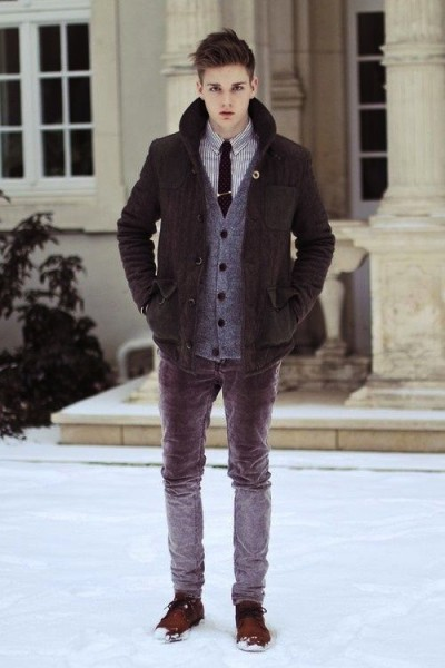 Men 39 S Winter Fashion Famous Outfits