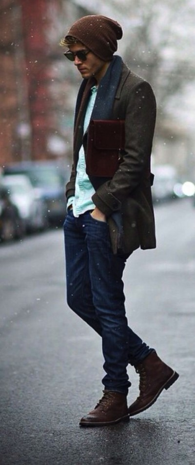 mens winter fashion famous outfits