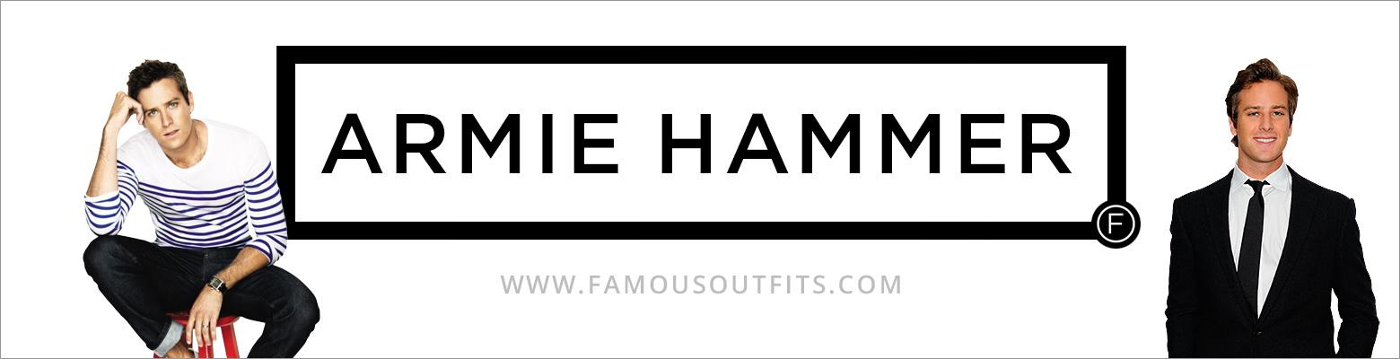 Armie Hammer Fashion