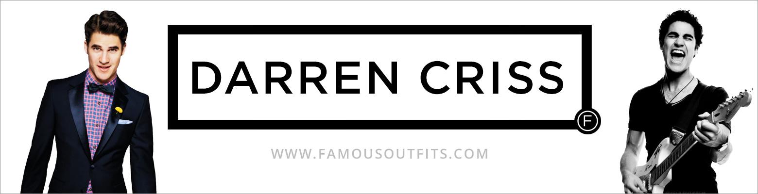 Darren Criss Fashion