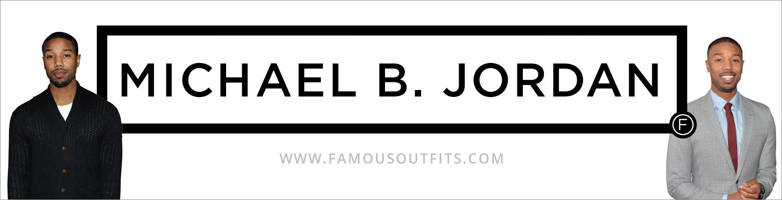 Michael B. Jordan Fashion