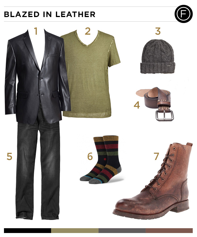 Kellan Lutz's Classy Casual Look