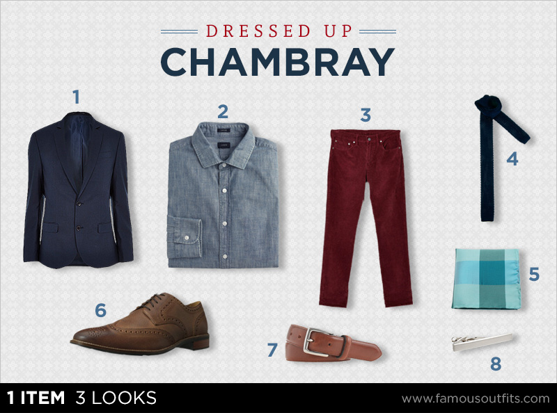 Dressed Up Chambray - 1 Item 3 Looks