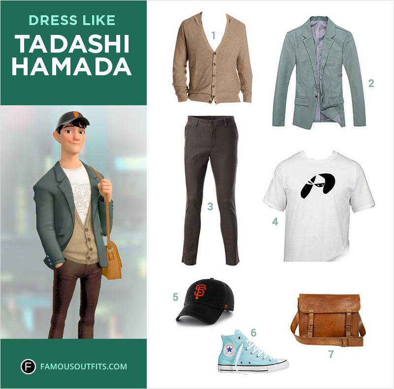 Dress Like Tadashi Hamada