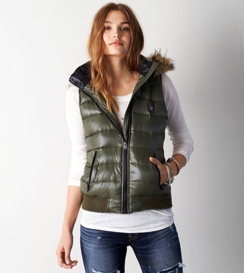 Womens Down Vests Fashion