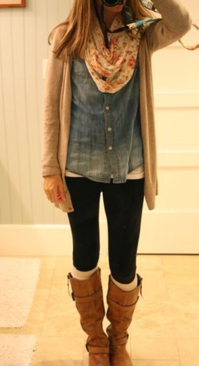 Fall Style Inspiration   Famous Outfits - Women